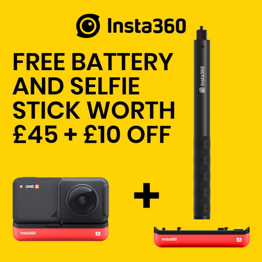 best360 insta360 one r promo code free invisible selfie stick amazon prime day