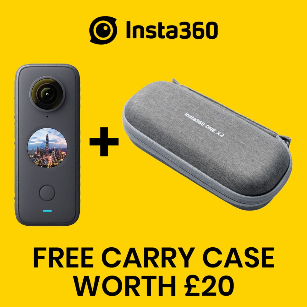 best360 insta360 one x 2 promo code free carry case