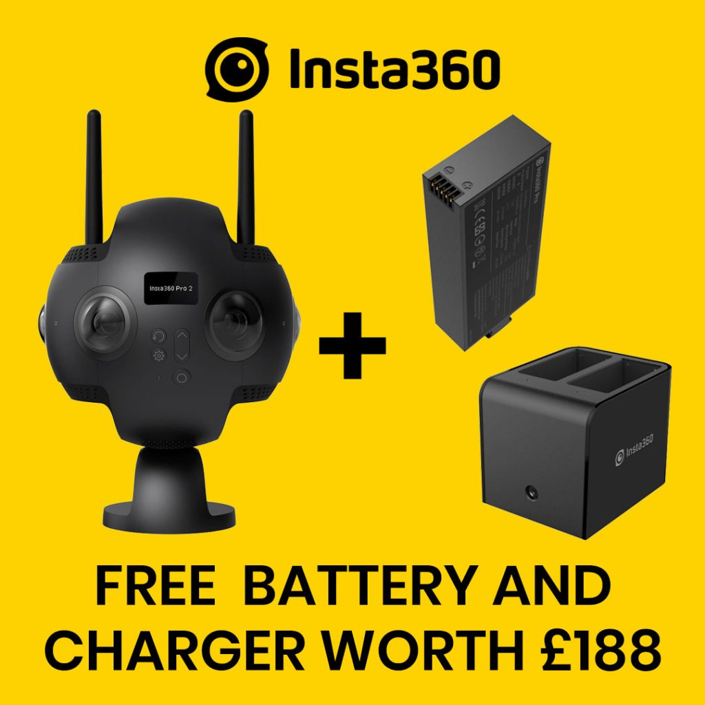 best360 insta360 pro 2 promo code free battery and charger special offer