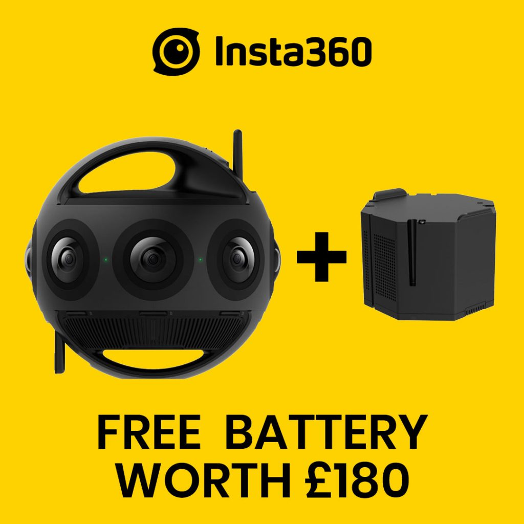 best360 insta360 titan promo code free battery