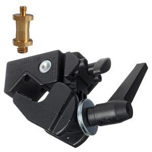 best 360 camera accessories manfrotto super clamp gold 037 stud